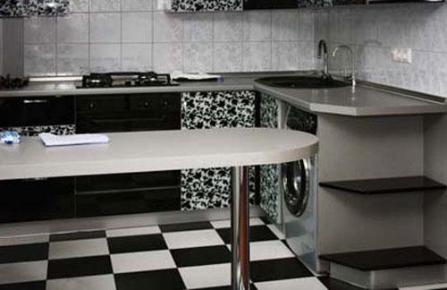 Идеи отделки стен на кухне с фото – под камень